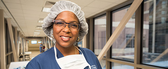 Physician-researcher Andrea Hayes-Jordan D '87, MED '91